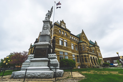 Coles County Illinois Courthouse