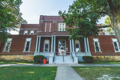 Jasper County Illinois Courthouse