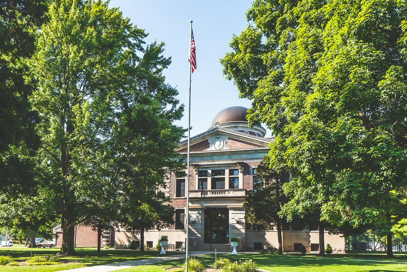 Ford County Illinois Courthouse