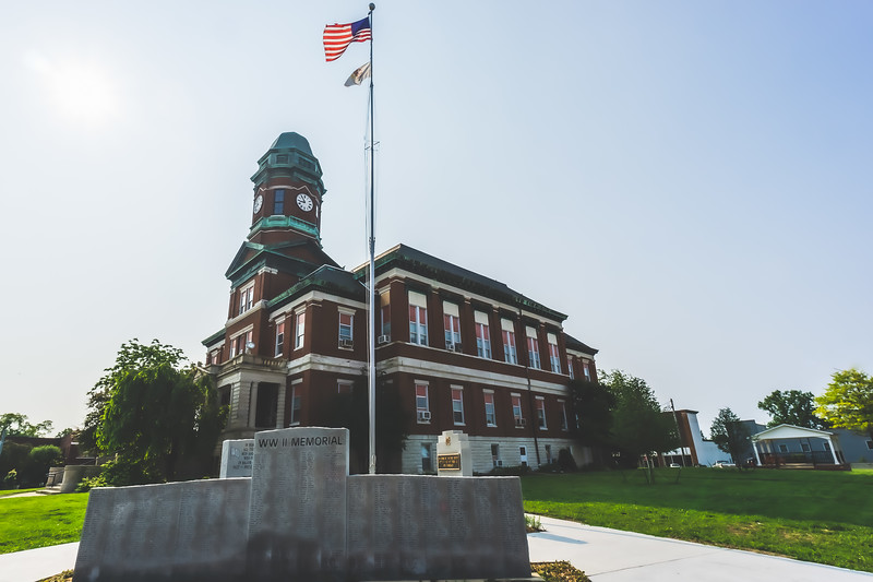 Lawrence County Illinois Courthouse