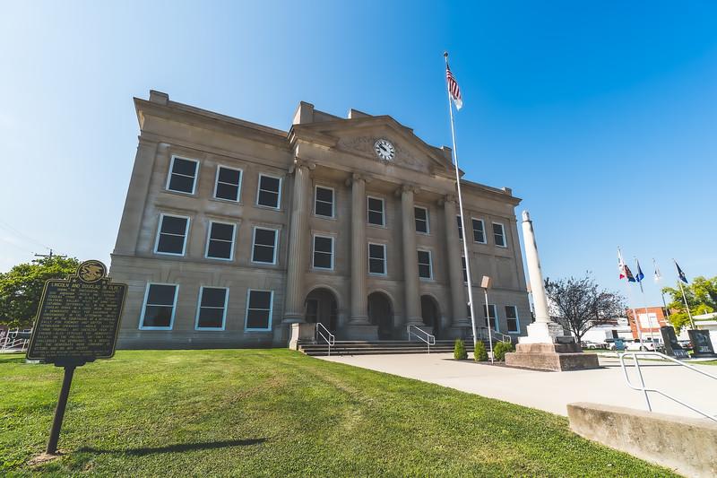 Richland County Illinois Courthouse