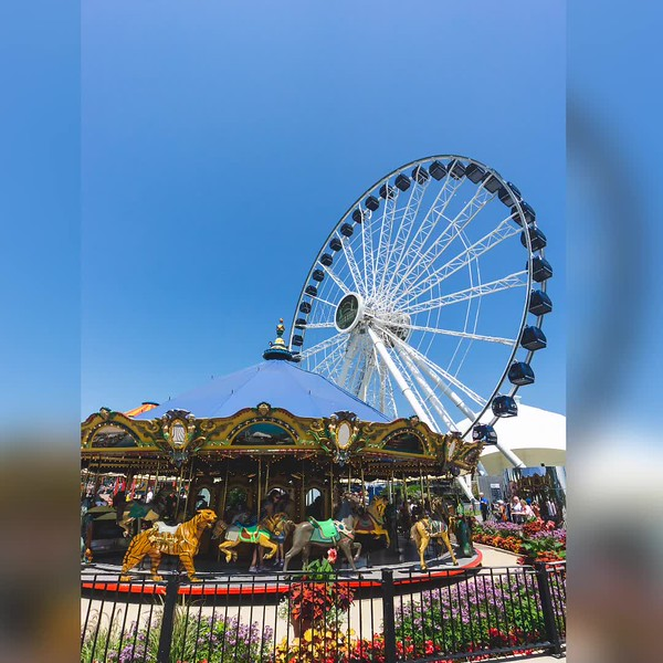 2018 Illinois: Navy Pier in Chicago Photo Slideshow