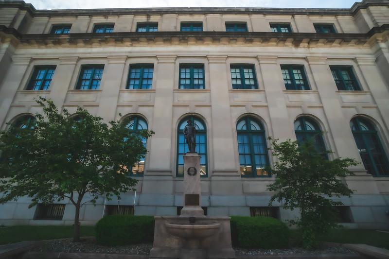 Vermilion County Illinois Administration Building in Danville