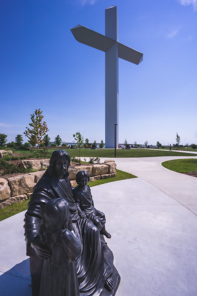 The Cross at the Crossroads in Effingham Illinois ~ The Largest Cross in America