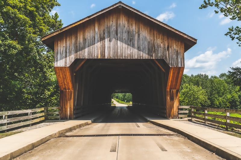 Jackson Covered Bridge in Cumberland County Illinois