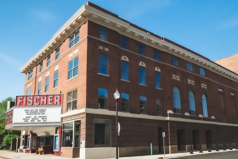 Fischer Theatre in Danville Illinois