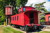 Burlington, and Quincy Railroad Caboose #14662