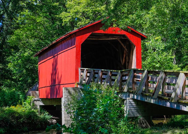Sugar Creek Covered Bridge