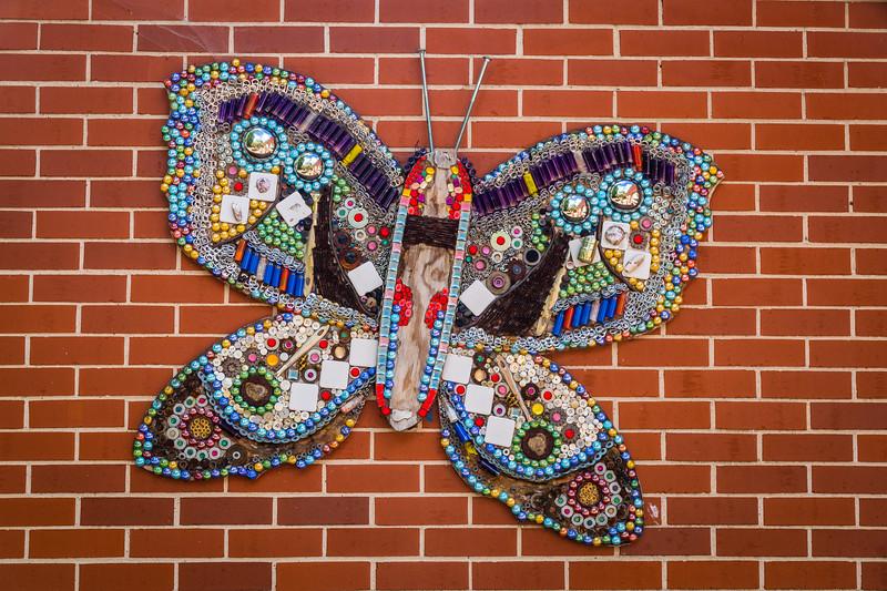 Butterfly in Beads