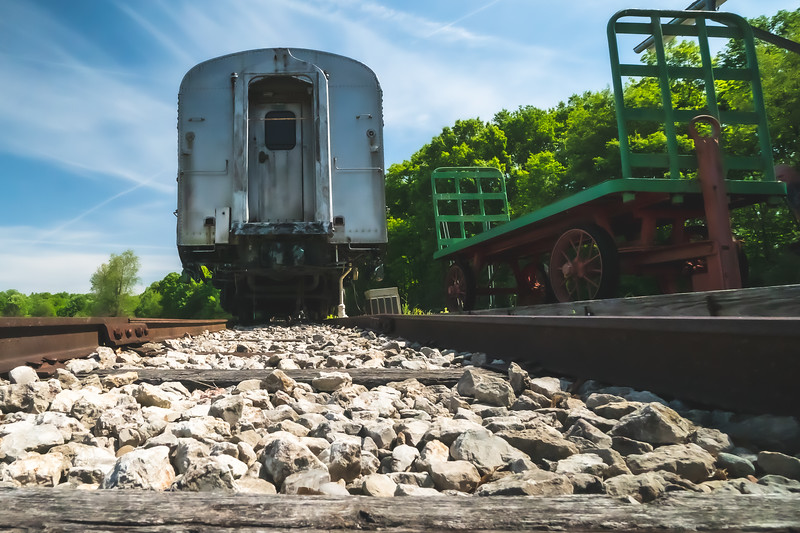 O'Leary's Dining Car within Kennekuk County Park in Vermilion County Illinois