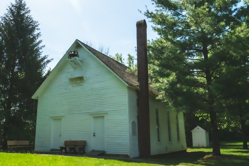 Vermilion Chapel within Kennekuk County Park in Vermilion County Illinois