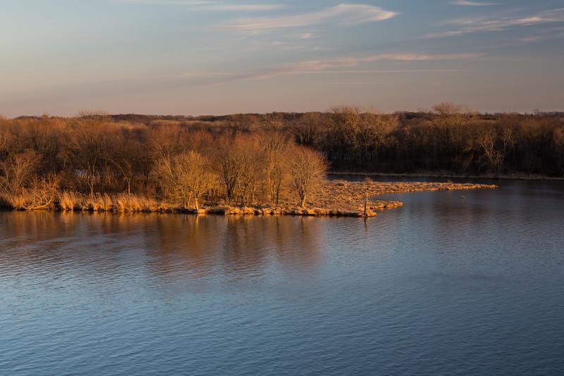 Illinois River Sunset I