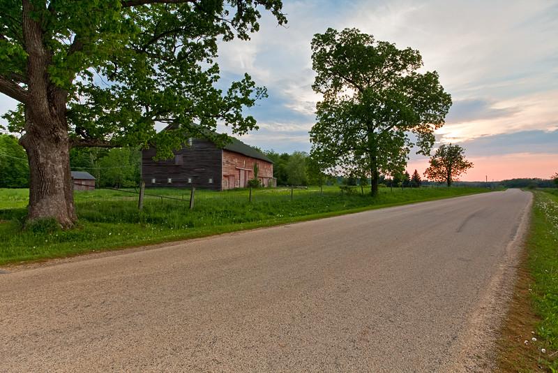 Country road in Grand Detour, IL<br /> <br /> IL-090523-0055
