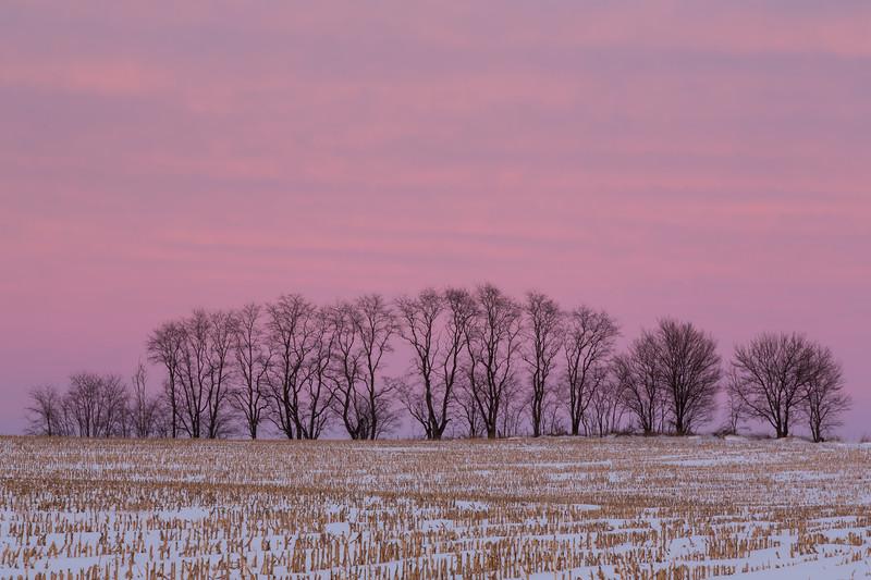 Millbrook Winter Sunset