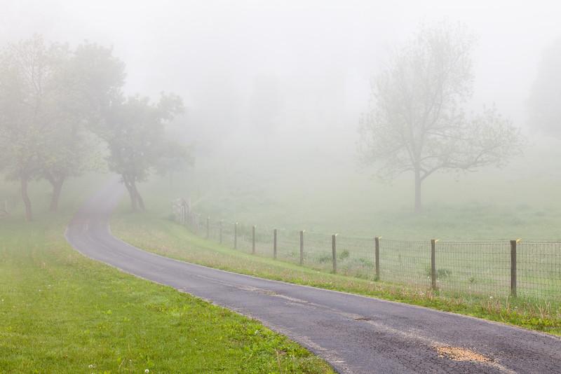 Rural road outside Grand Detour, IL<br /> <br /> IL-110529-0008