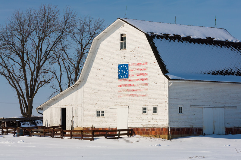 Bennington Flag Barn