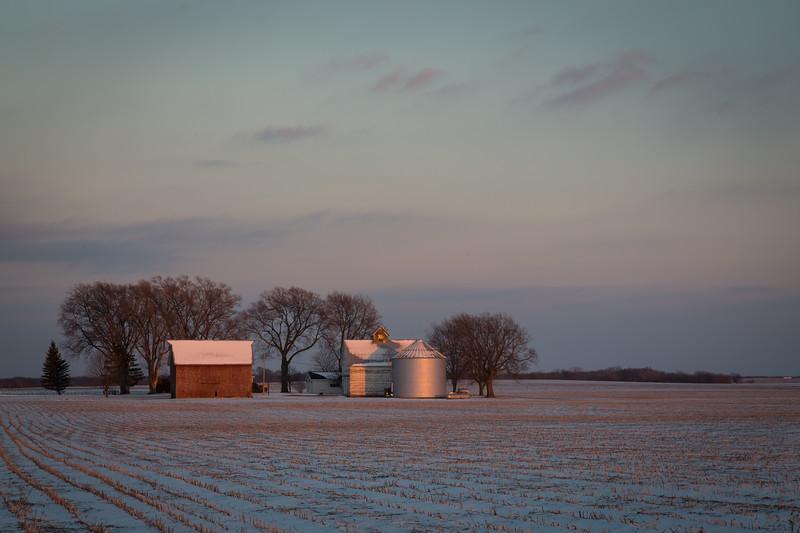 Lasalle Winter Sunset