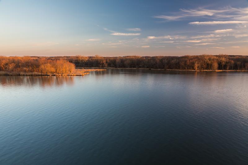 Illinois River Sunset III