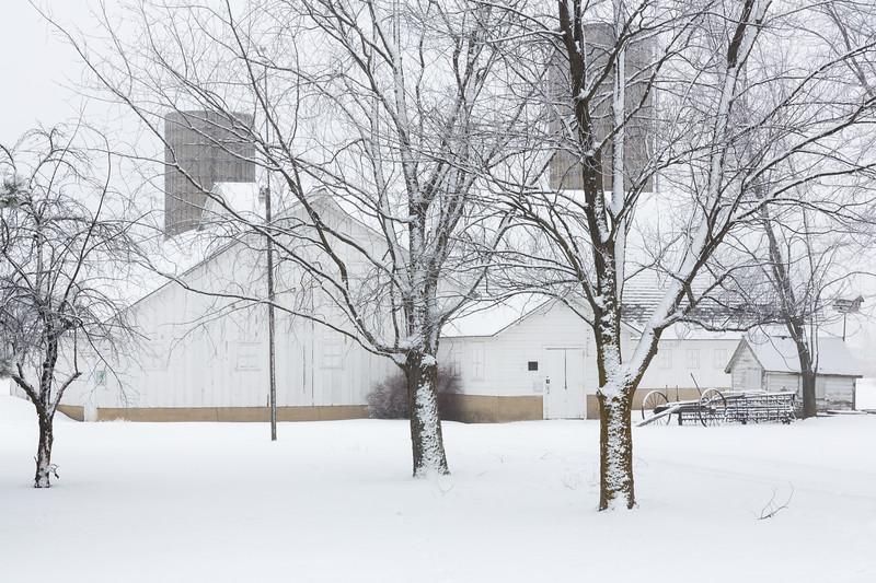 Fidler Farm Barn Winter #3