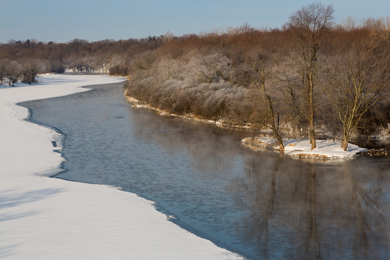 Fox River Winter