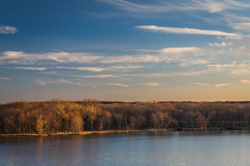 Illinois River Sunset II