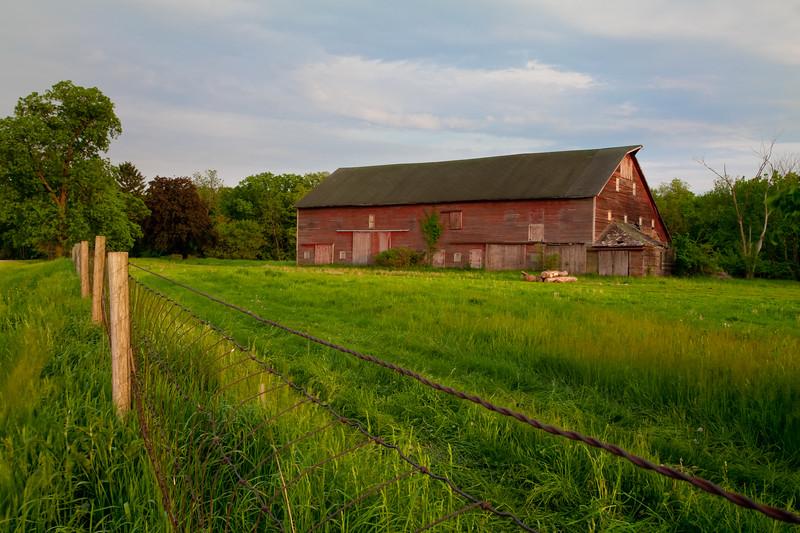 Grand Detour barn. Grand Detour, IL<br /> <br /> IL-090523-0046