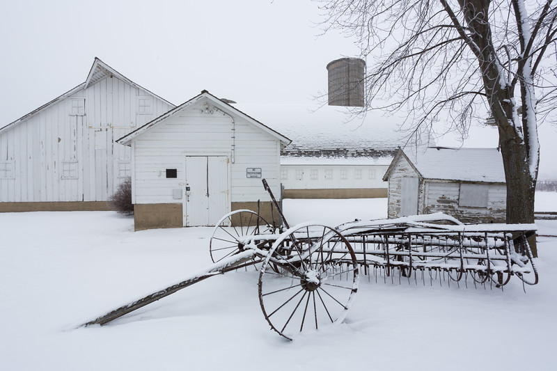 Fidler Farm Barn Winter #2