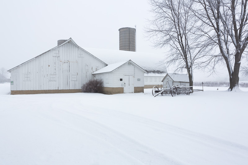 Fidler Farm Barn Winter #1
