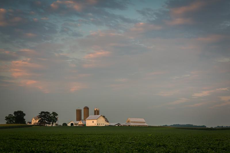 Rural Summer Sunset