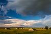 Storm clouds move over Midewin National Tallgrass Prairie. Wilmington, IL<br /> <br /> IL-100710-0036