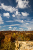A short hike from the Buffalo Rock State Park parking lot provides a treetop view of the Illinois River valley in its Autumn splendor. Lasalle County, IL<br /> <br /> IL-121020-0115