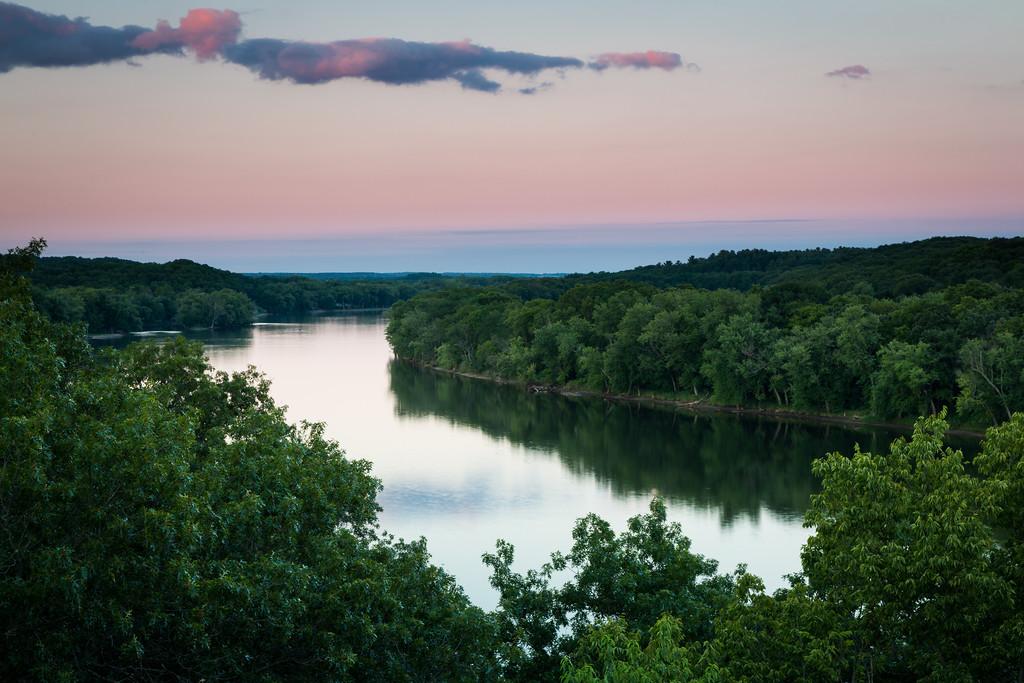Rock River Sunset