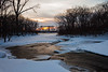 Winter scene at Des Plaines Conservation Area. Wilminton, IL<br /> <br /> IL-100110-0037
