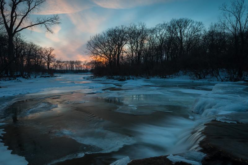 Prairie Creek Winter Colors