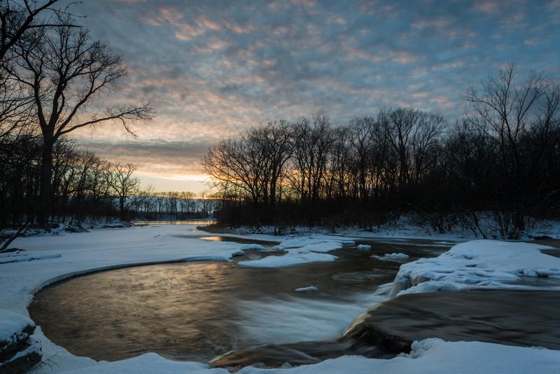 Prairie Creek Sunset