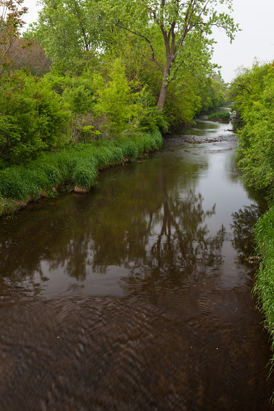 Upstream view of the I&M Canal from Lock 3. Joliet, IL<br /> <br /> IL-110521-0064
