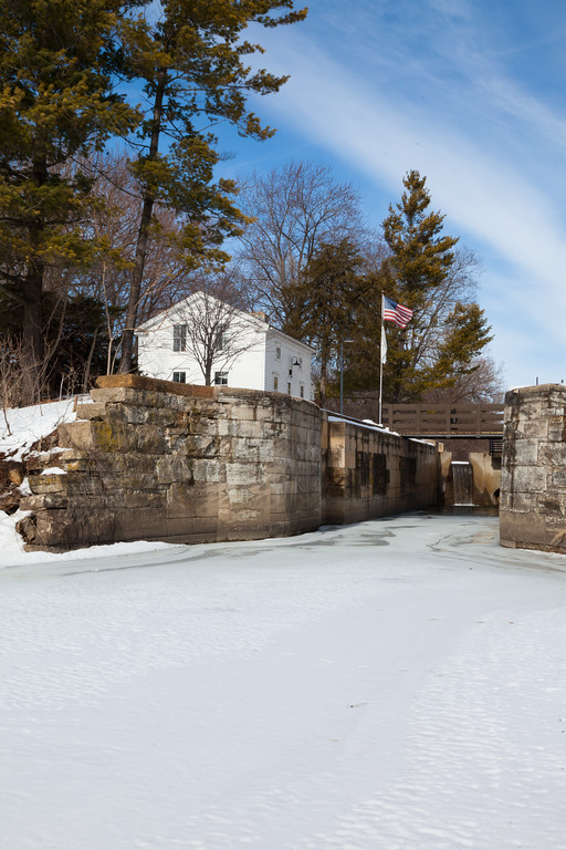 Lock 8 from the DuPage River