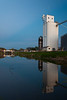 View of the I&M Canal on Utica. Utica was once home to several grain elevators that transported their goods on the I&M Canal. Utica, IL<br /> <br /> IL-120325-0041