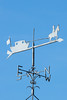 Canalboat Weather Vane