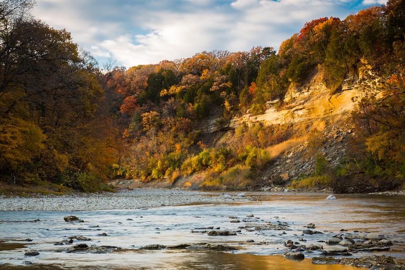 Vermilion River Sunset