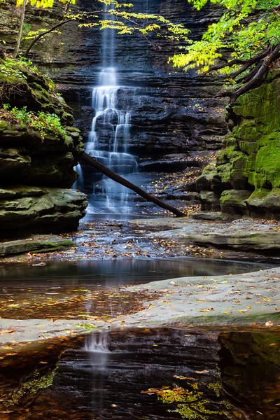 Lake Falls reflection. Lasalle County, IL<br /> <br /> IL-091009-0041