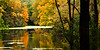 Fall color reflects on Matthiessen Lake. Lasalle County, IL<br /> <br /> IL-091009-0068