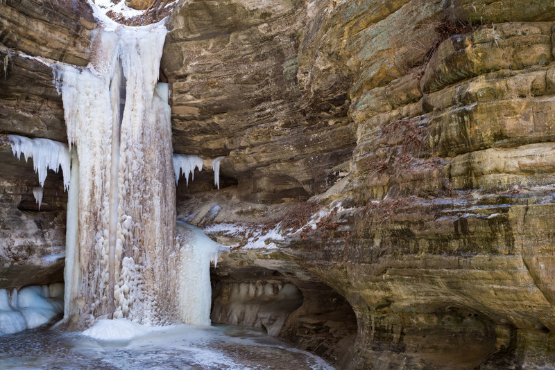 Lasalle Canyon Icefall