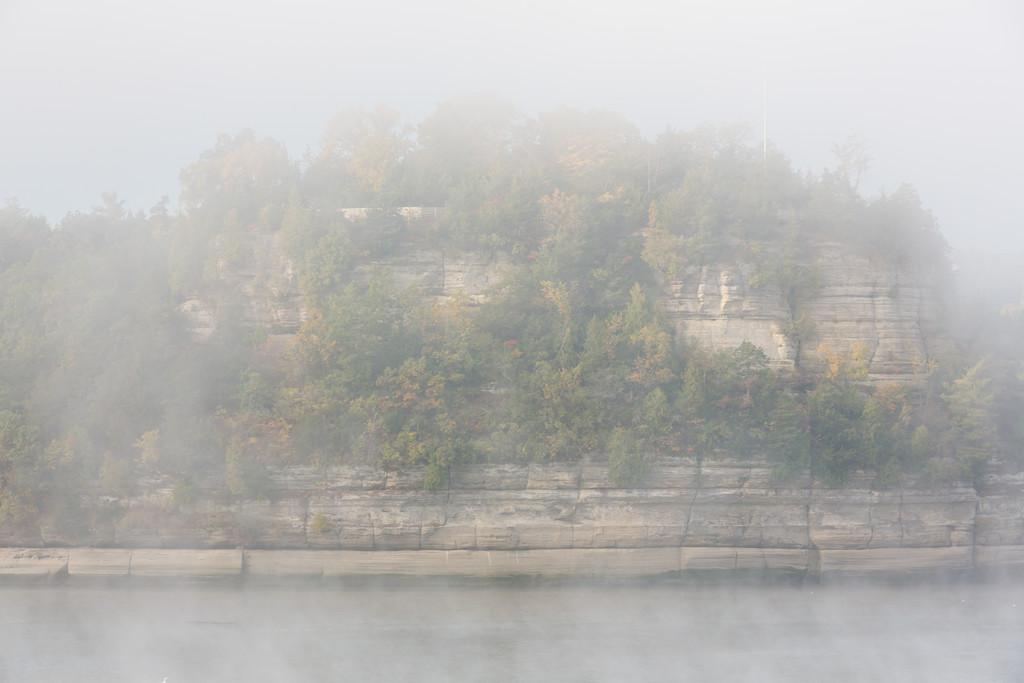 Starved Rock Fog