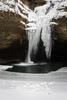 Ice formations on the Kaskaskia Canyon waterfall. Lasalle County, IL<br /> <br /> IL-070121-0012