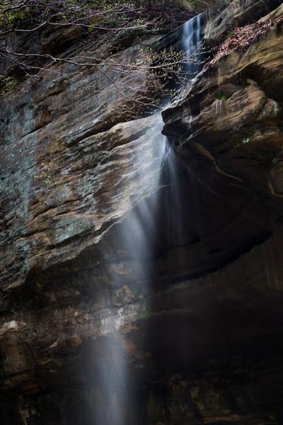 Tonti Canyon Waterfall