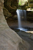 Lasalle Canyon waterfall. Lasalle County, IL<br /> <br /> IL-070428-0005