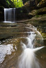 Lasalle Canyon waterfall after a few days of rain. Lasalle County, IL<br /> <br /> IL-190930-0081