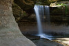 Lasalle Canyon waterfall. Lasalle County, IL<br /> <br /> IL-070428-0012