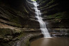 French Canyon waterfall after a couple of days of heavy rain. Lasalle County, IL<br /> <br /> IL-190930-0028